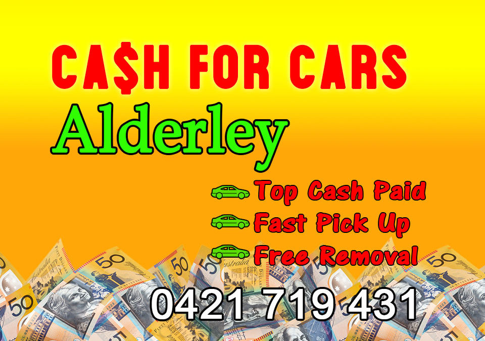 Alderley Cash for Cars Removals