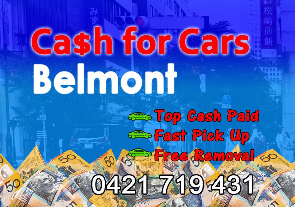 Belmont Cash for Cars Removals
