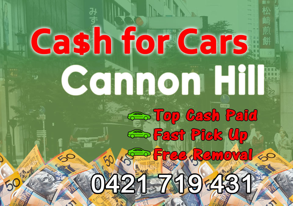 Cannon Hill Cash for Cars Removals