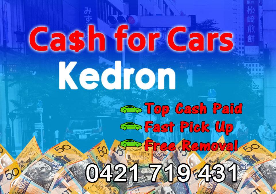 Kedron Cash for Cars Removals
