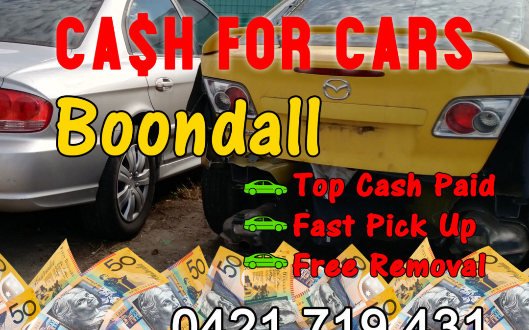 Boondall Cash for Cars Removals