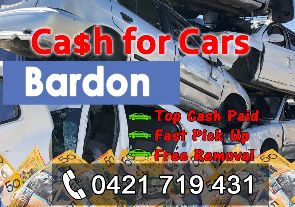 Bardon Cash for Cars Removals